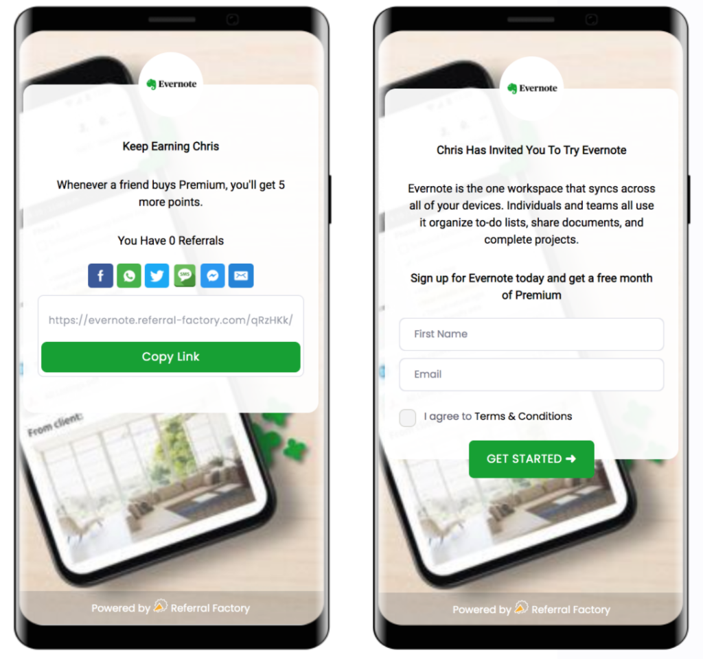 Generating high quality leads for Evernote